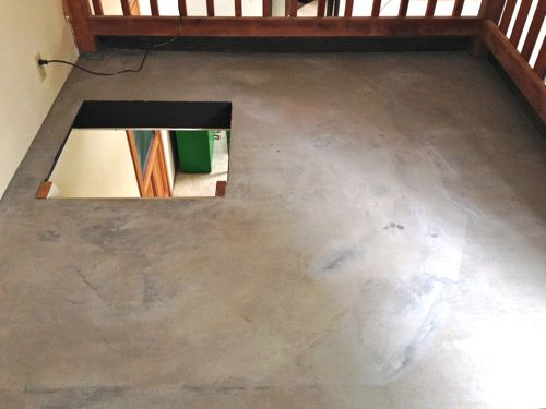 Diy Concrete Floors Easy Inexpensive Design Mom Bargain Floor