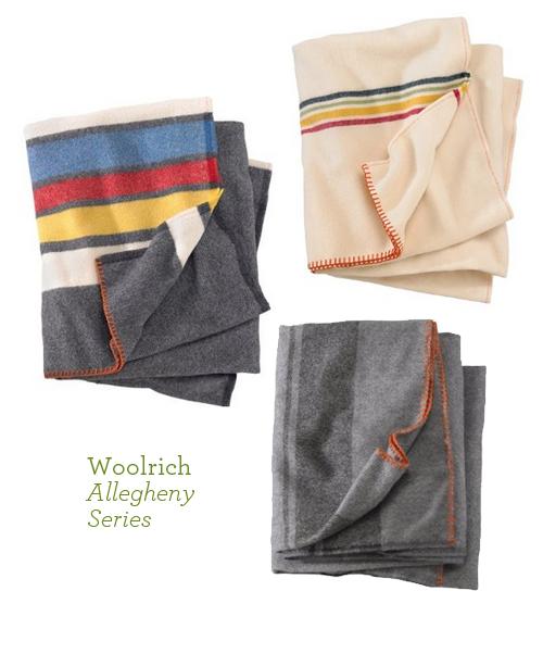 Woolrich Allegheny Series Wool Blankets