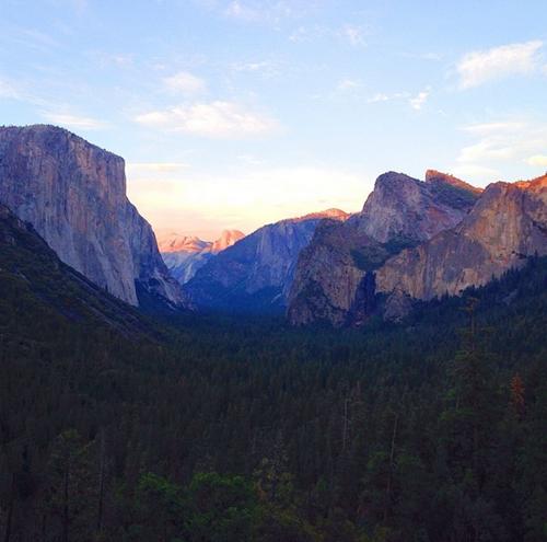 Yosemite Summer Sunset