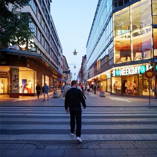 Ben Blair in Stockholm