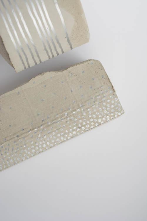 DIY: Cement Desk Organizer and Pencil Holder       Design Mom
