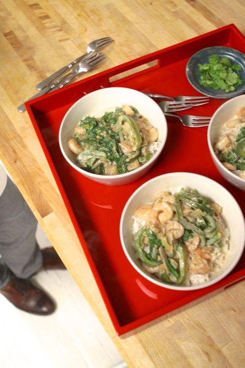 Blue Apron Shrimp & Rice7