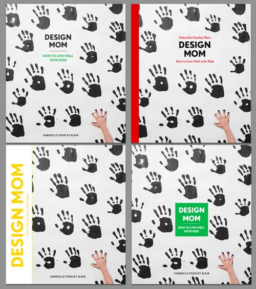 Design Mom Book Cover Drafts