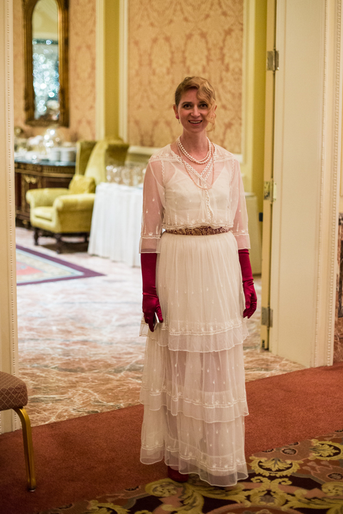 Gabrielle Blair, Design Mom, Downton Abbey Party, Winter 2015