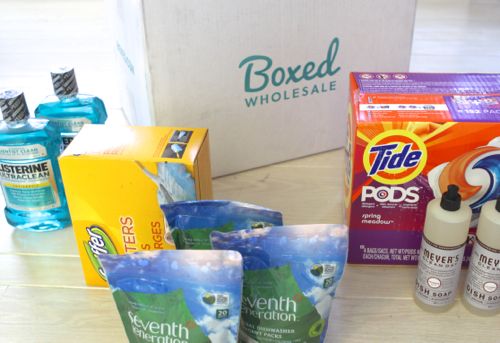 Just discovered Boxed.com - it's like an online warehouse club, but there's no membership fee!