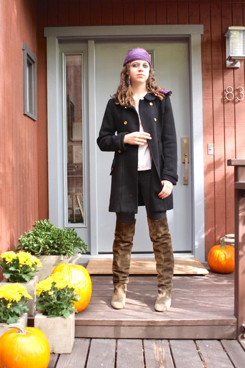 Homemade Jack Sparrow Halloween Costume DIY