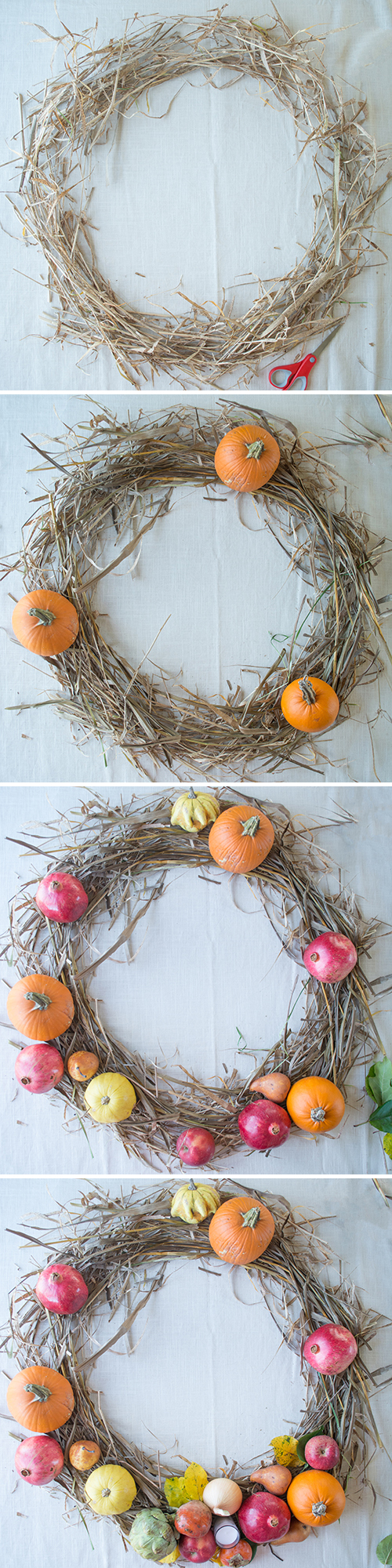 Create a Beautiful Thanksgiving Table Centerpiece | Design Mom