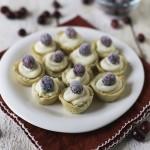 Sugared Cranberry Mini Tarts | Design Mom