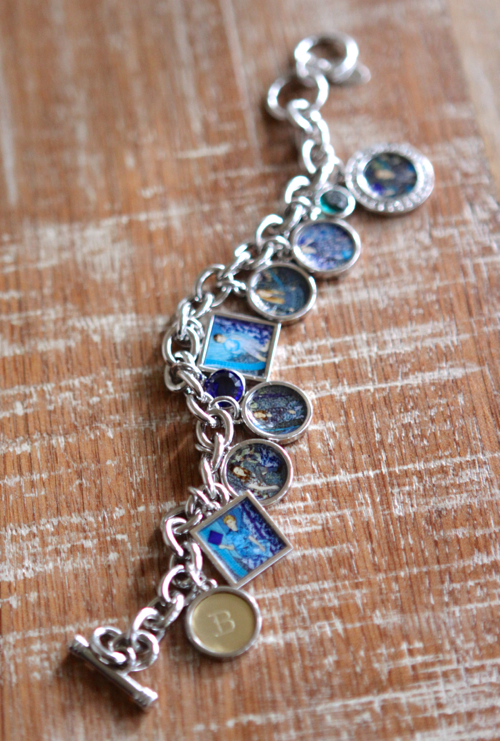 Custom Photo Charms for your charm bracelet.