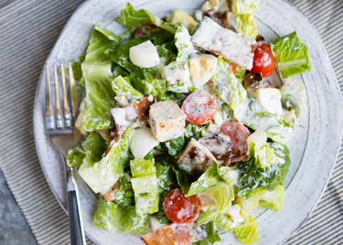Cobb Salad with Herb Dressing