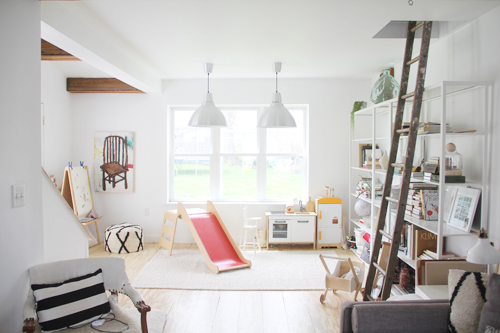Living With Kids: Katie Stratton's home featured by popular lifestyle blogger, Gabrielle of Design Mom