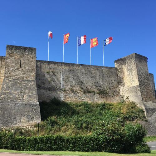 Caen Castle France