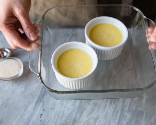 baked creme brulee