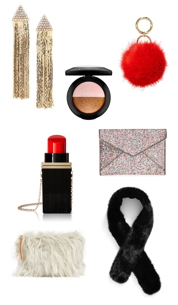 Holiday Style Tips & Picks that Won't Break the Bank featured by top US lifestyle blog, Design Mom: Holiday accessories