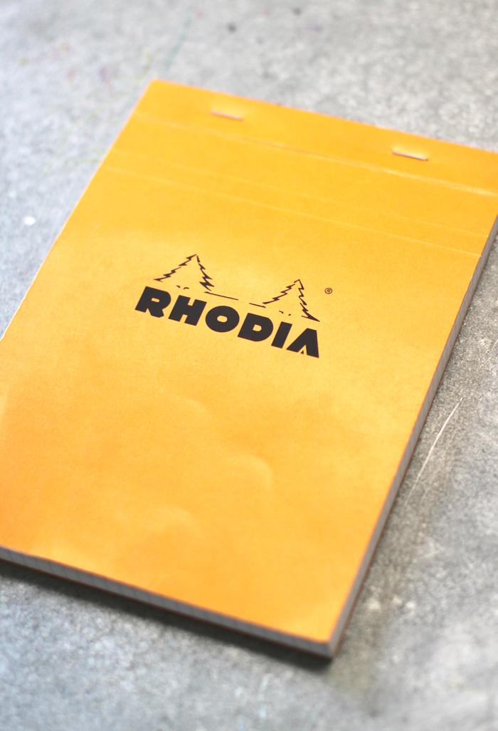 Favorite French School Supplies - Rhodia notebooks