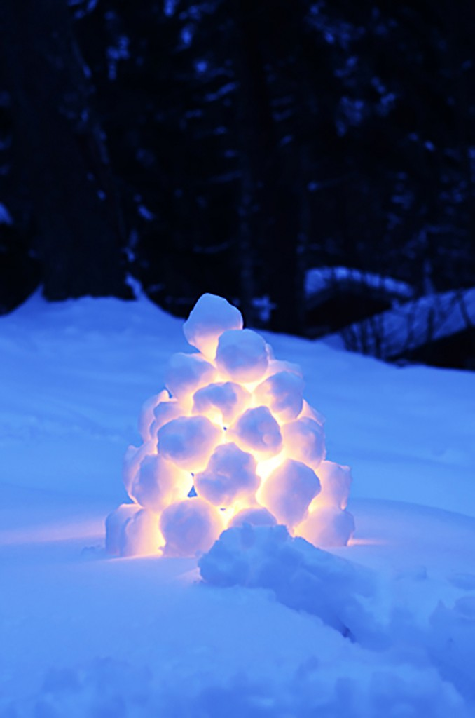 5 kid snow activities — including a Swedish Snowball Lantern