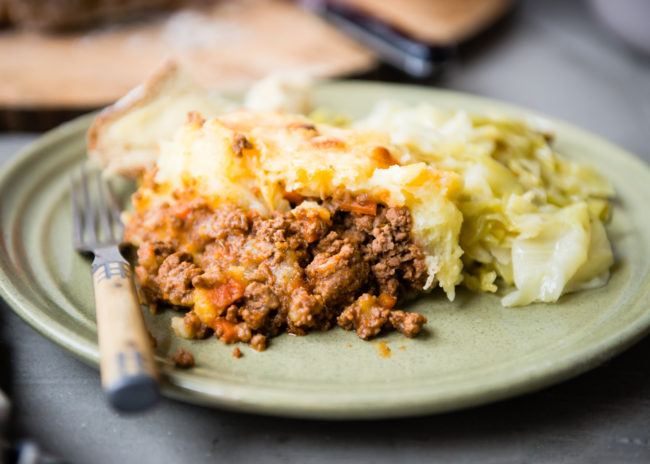 Shepherd's Pie for St. Patrick's Day | DesignMom.com