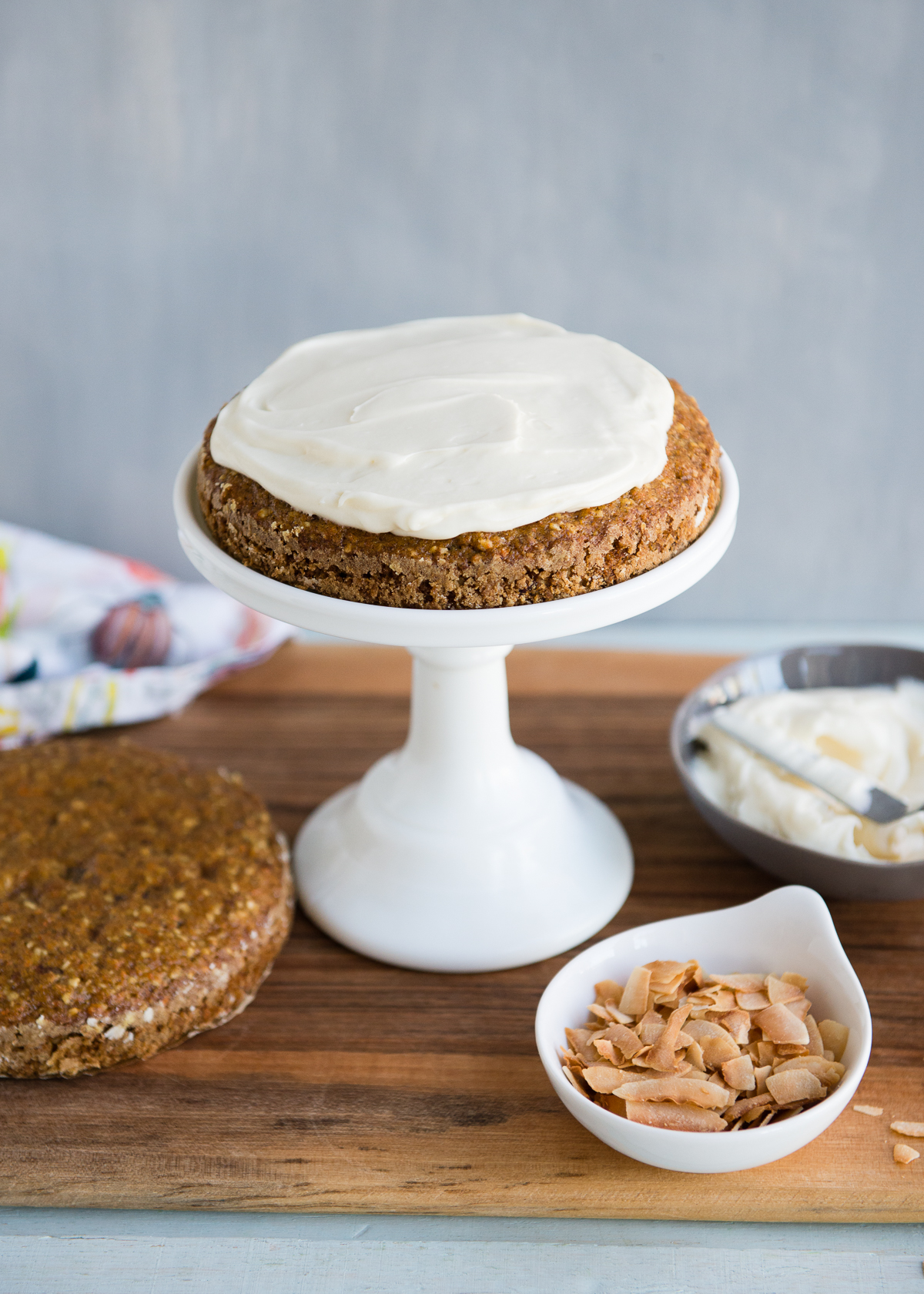 Mini Carrot Cake Sized Down And Perfect For Two People To Share