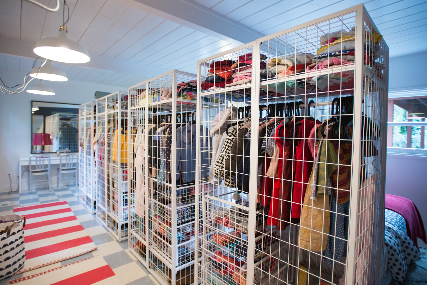 3-part system for organizing kid clothes and closets