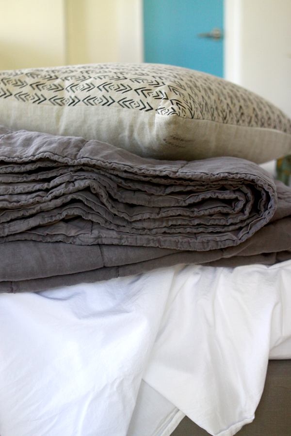 the difference between percale, sateen, and linen sheets