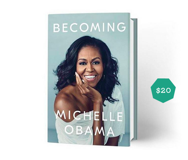 Top Gift Ideas for Teens featured by top life and style blog, Design Mom: image of Becoming by Michelle Obama
