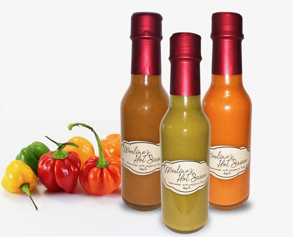 32 unique gifts for women featured by top blog, Design Mom: image of Merline's hot sauces