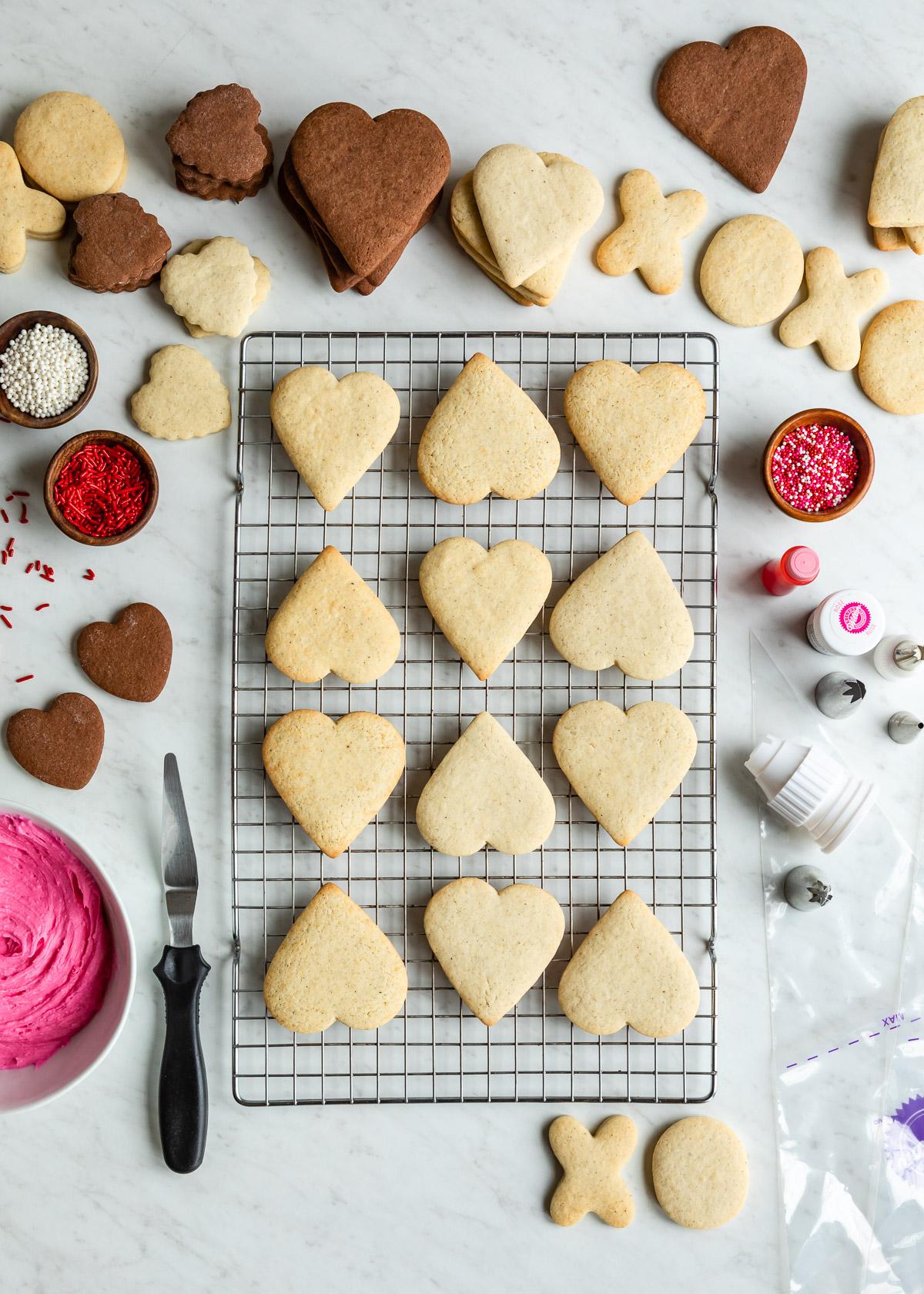 The Best Sugar Cookie Frosting   DesignMom.com