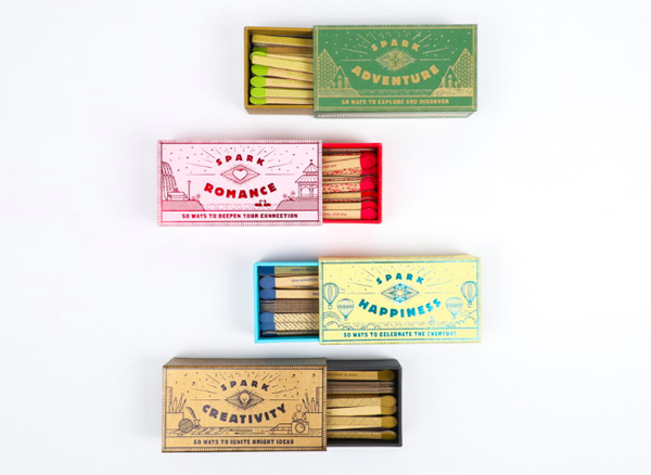 | Gifts for acquaintances featured by top US lifestyle blog, Design Mom: Spark matches