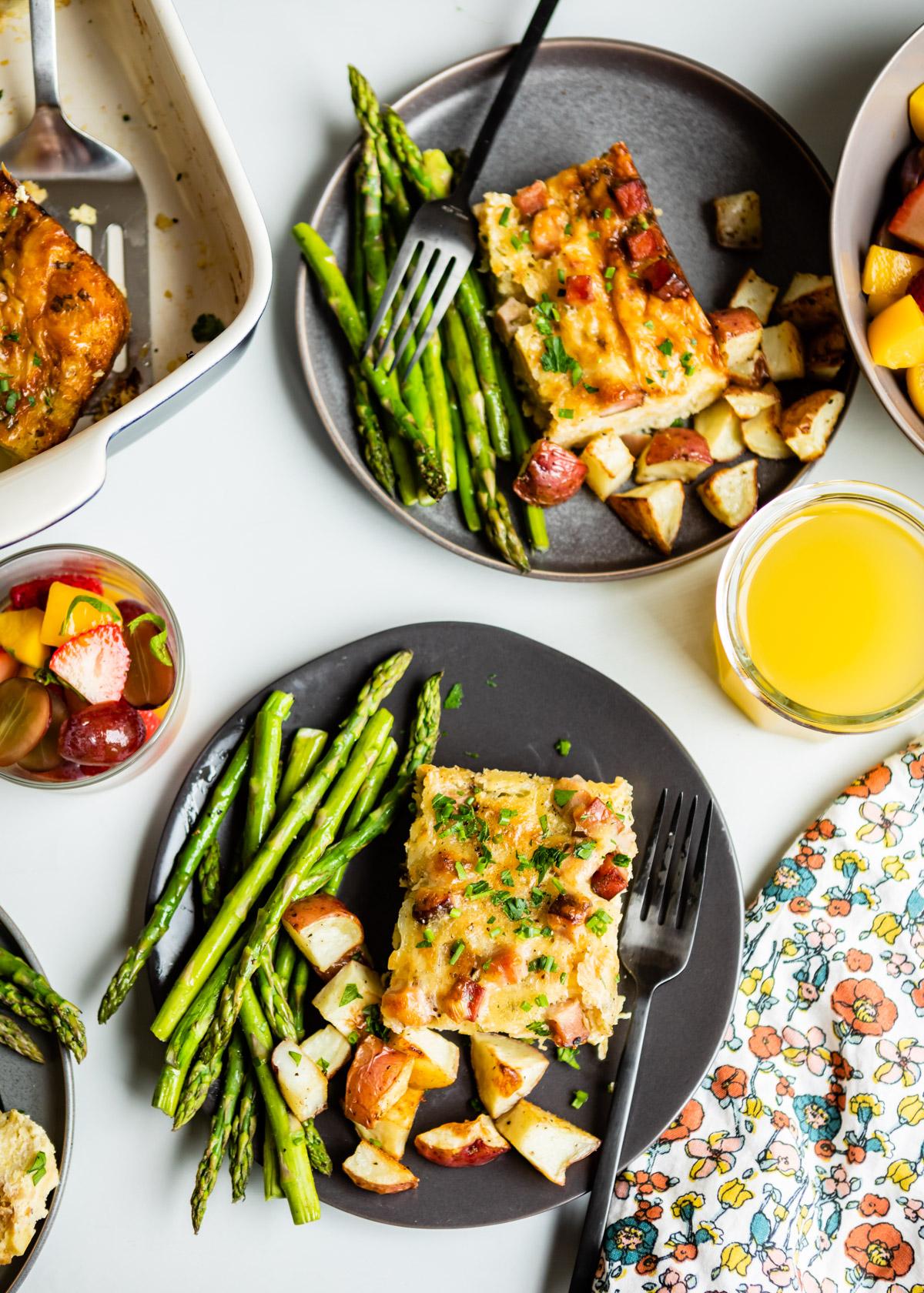 Overnight Breakfast Casserole | DesignMom.com