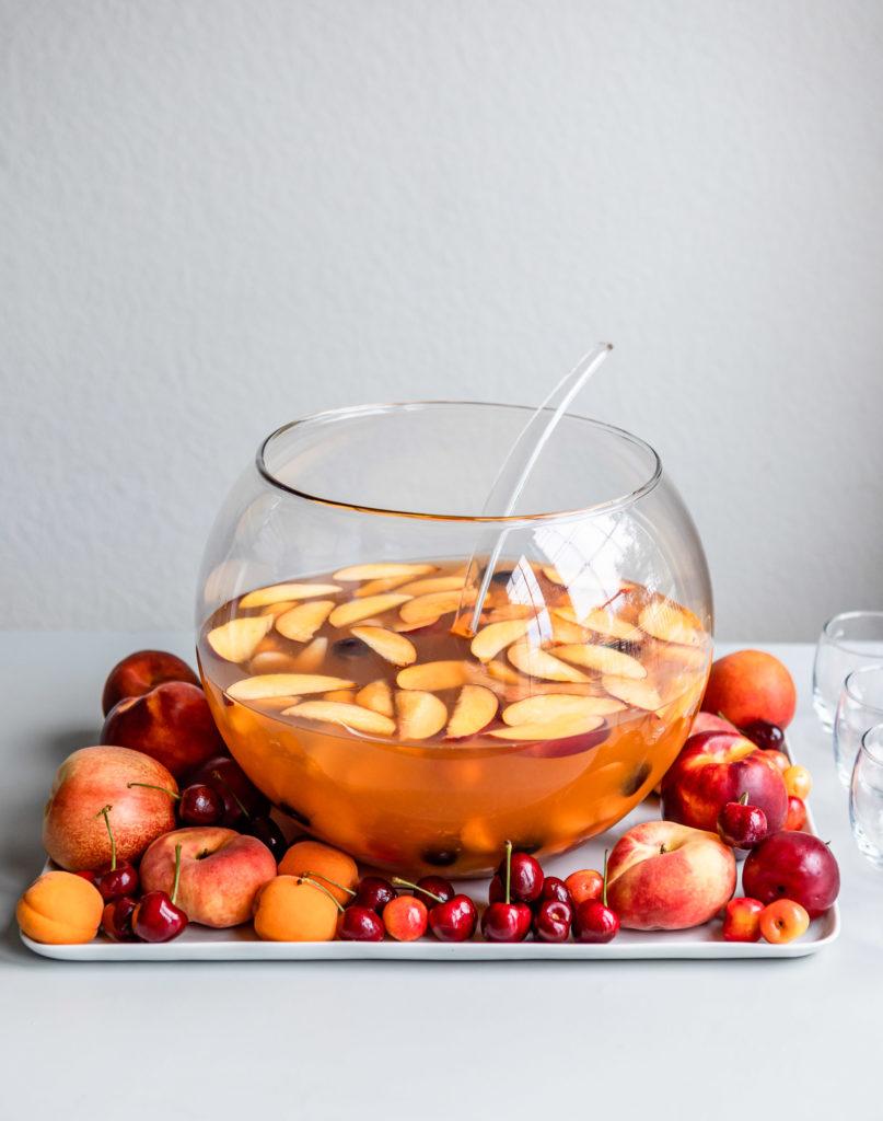 Summery Non Alcoholic Sangria | DesignMom.com