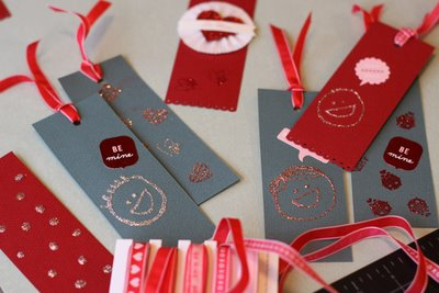 DIY Valentine Bookmarks